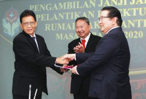 Pelantikan Direktur Utama RS Panti Rapih