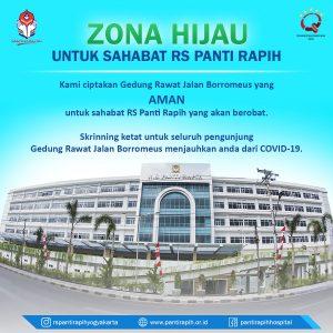 Rumah Sakit Panti Rapih Aman Dikunjungi